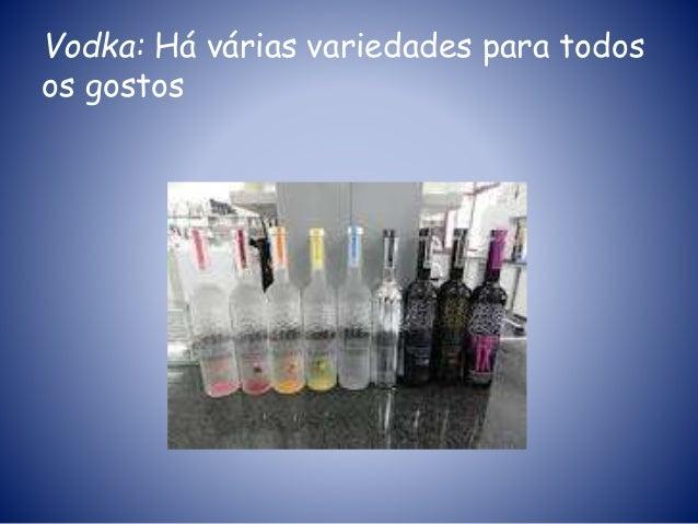 Vodka: Há várias variedades para todos os gostos