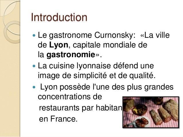 Gastronomie Slide 2