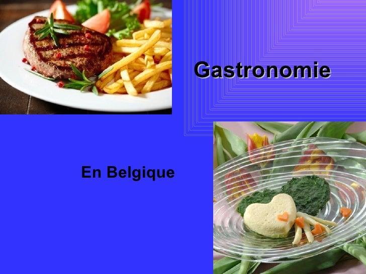 GastronomieEn Belgique