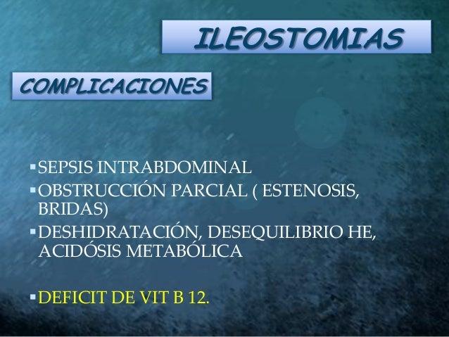 COMPLICACIONES ILEOSTOMIA EPUB