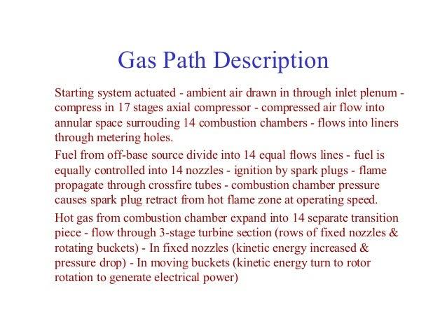 Gas turbine course