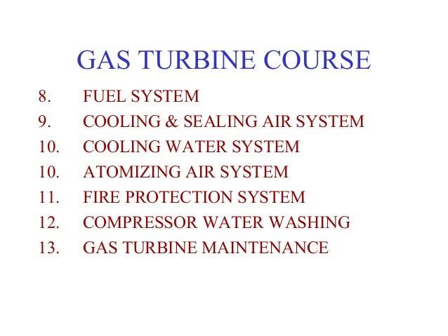 Gas turbine course Slide 2