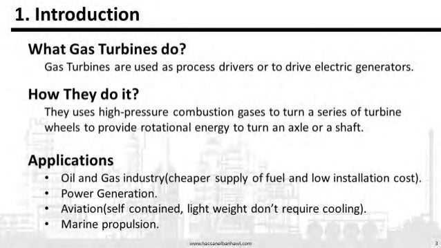 Gas Turbines presentation on Types, Classification and governing Equations Slide 3