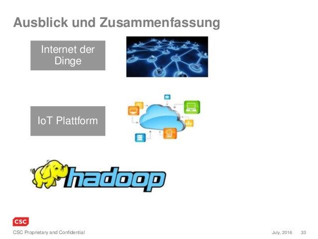 Hadoop und IoT