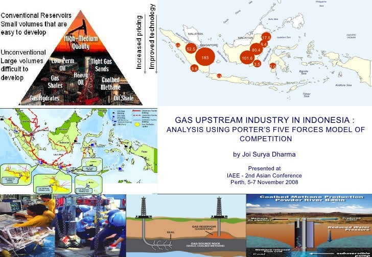 GAS UPSTREAM INDUSTRY IN INDONESIA :  ANALYSIS USING PORTER'S FIVE FORCES MODEL OF COMPETITION by Joi Surya Dharma Present...