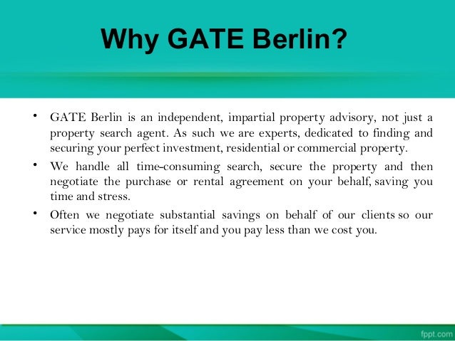 Impartial Property Finding Service