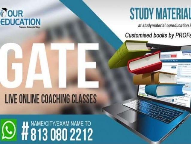 Introduction  GATE or Graduate Aptitude Test for Engineering is an entrance exam for selecting .  The best mind of engin...