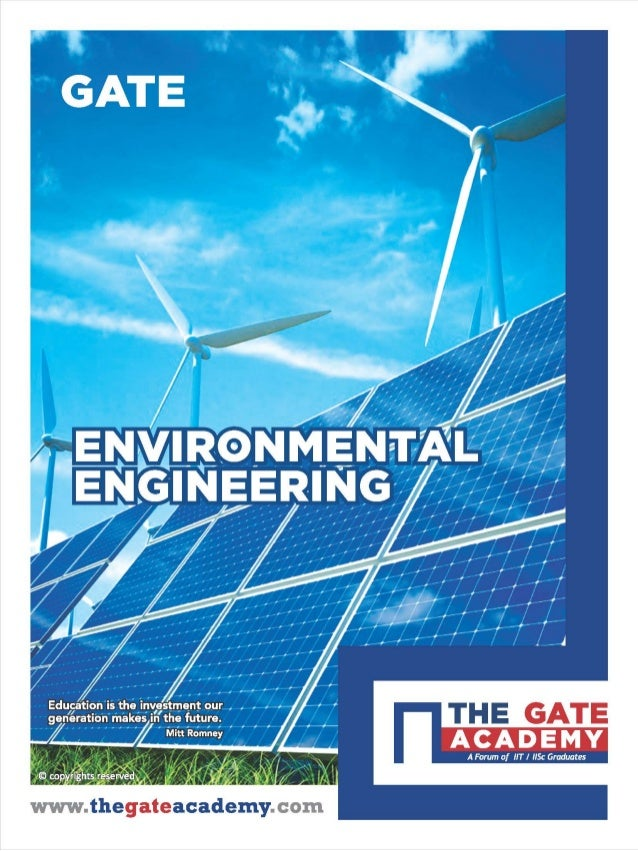 Environmental Engineering for Civil Engineering By www.thegateacademy.com