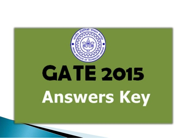 Gate Results: GATE Exam Results 2015