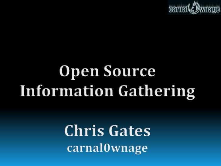 Shameless Self Promotion  Blogger...carnal0wnage.attackresearch.com.  Metasploit Project.  Attack Research.  Security ...