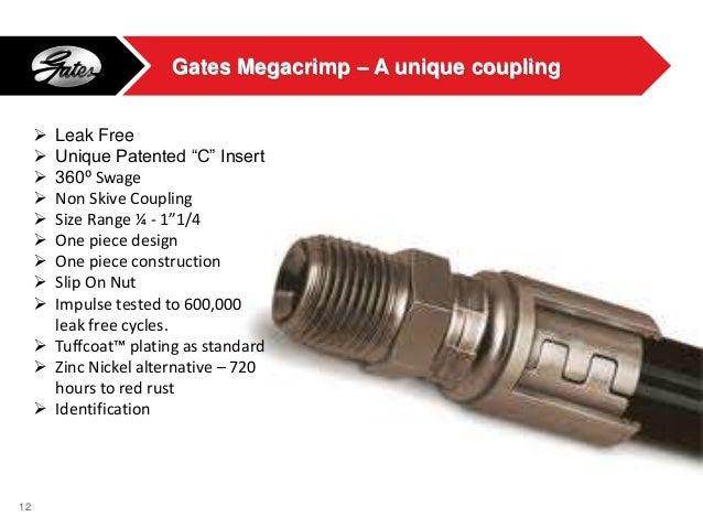 Gates Advantage Hydraulic Hose And Couplings