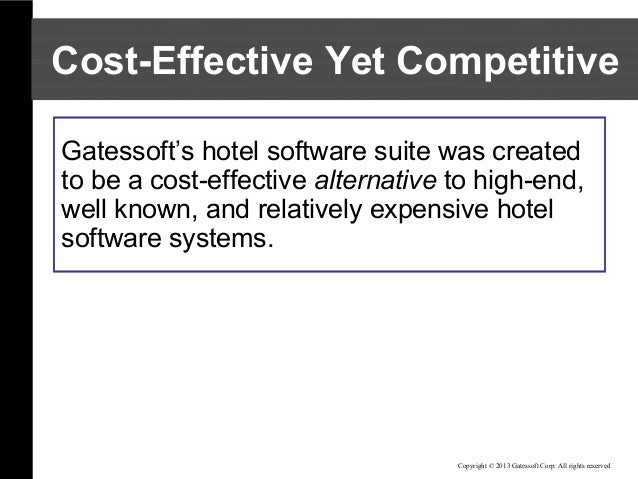 hotel property management system pdf