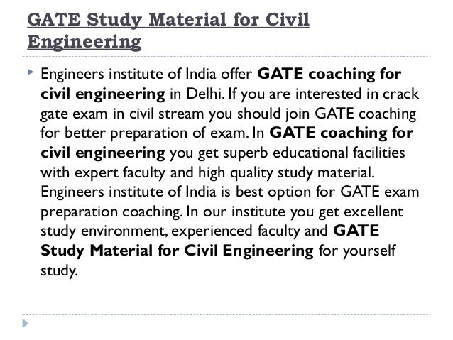 how to study civil engineering subjects