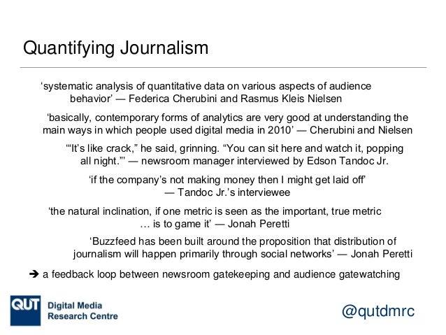 @qutdmrc Platform Power 'journalists … are a pretty useful source of marketing for Twitter' ― Ali Nobil Ahmad 'transformin...