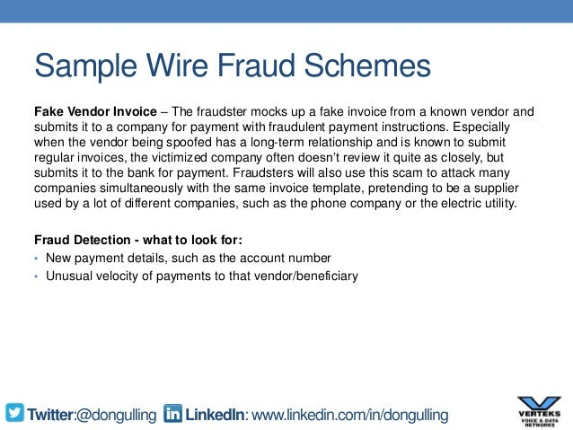 it security and wire fraud awareness slide deck rh slideshare net RJ45 Wiring -Diagram Wire Money