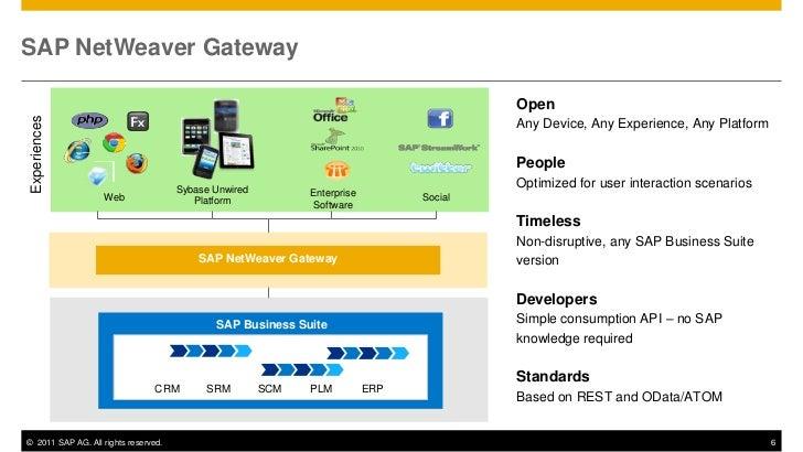 SAP NetWeaver Gateway                                                                                         OpenExperien...