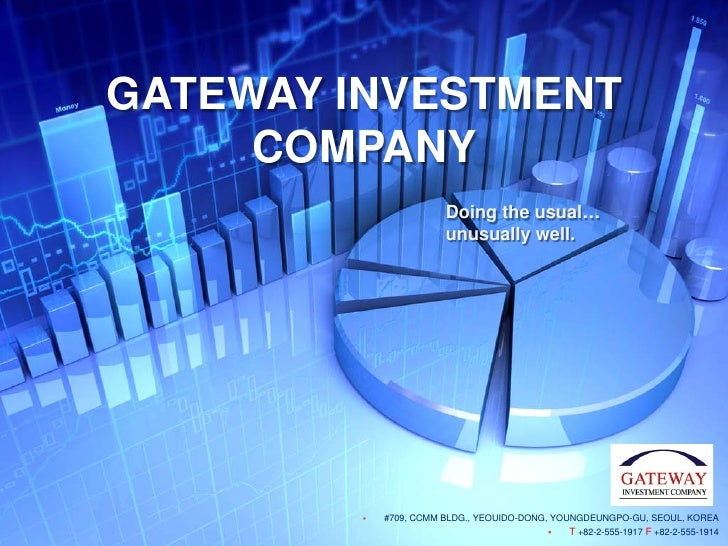 Gateway investment profile (english)