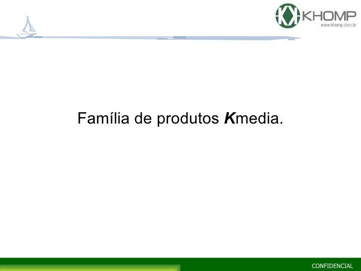 <ul><li>Família de produtos   K media. </li></ul>
