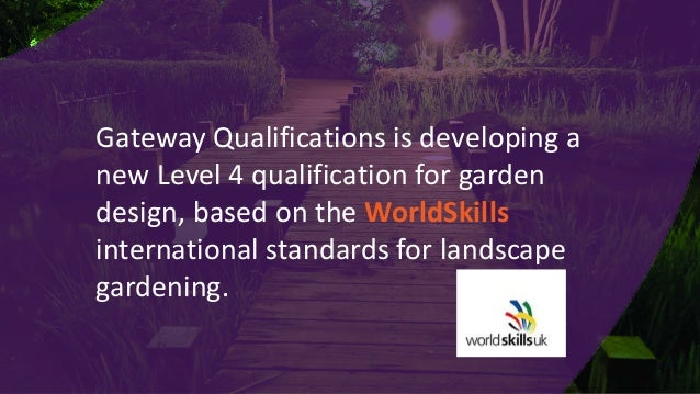 An introduction to gateway qualifications for Gardening qualifications