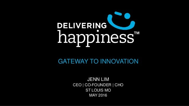 GATEWAY TO INNOVATION JENN LIM CEO | CO-FOUNDER | CHO ST LOUIS MO MAY 2016