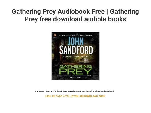 Gathering Prey Audiobook Free | Gathering Prey free download