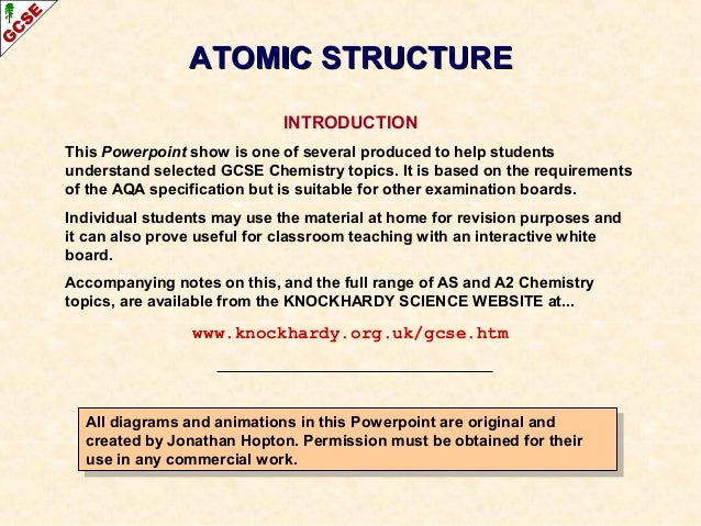 essay about atomic structure The progress of the atomic structure different theories about the atomic structure were introduced over time these theories changed as a result of development of different experiments leucippus was the first to introduce the theory of atomism, however he didn't write about his theories in detail.