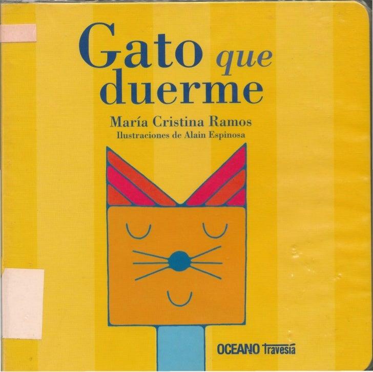 ato queduermeMaría Cristina RamosIlustraciones de Alain Espinosa  v                  V   ~            V                   ...