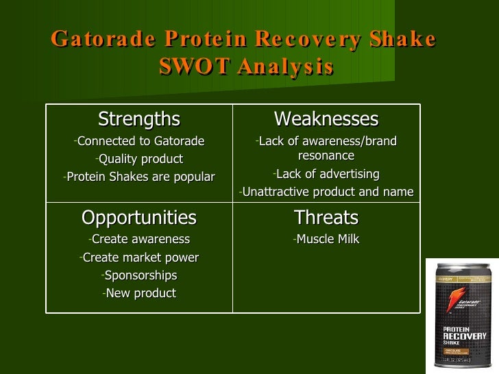 swot analysis for gatorade Human resource management of gatorade discuss human resource management of gatorade within the human resources management  company profile and swot analysis.