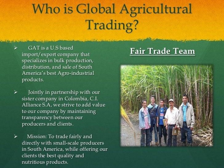Global ag trading system