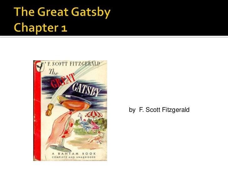 by F. Scott Fitzgerald