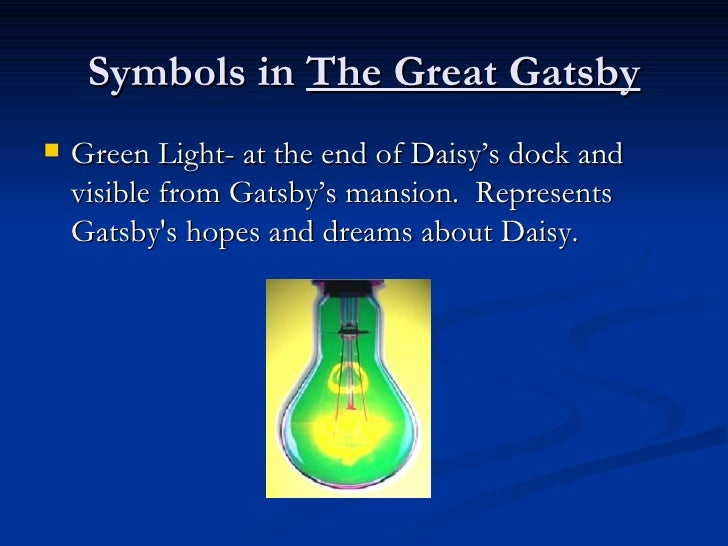 symbolism in the great gatsby essays Home → sparknotes → literature study guides → the great gatsby → study questions the suggested essay in the great gatsby infuse symbols with meaning.