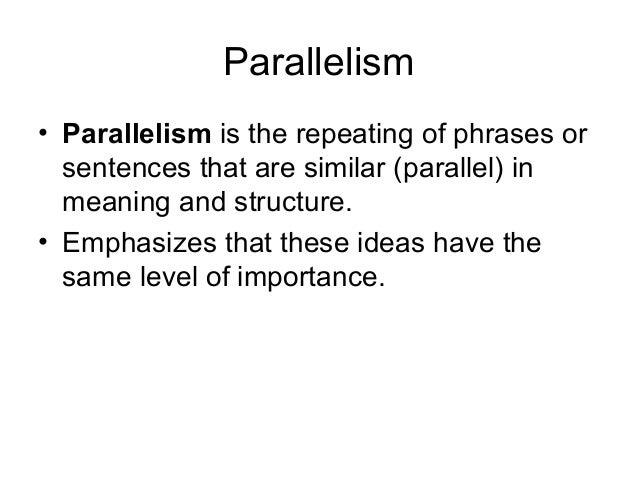 Gatsby syntax powerpoint 2 – Parallelism Worksheet