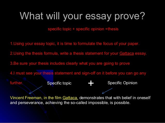 "gattaca intro essay Gattaca essay topics orangejobs jpg discrimination work pros using services type nursing education intro "" – gattaca essay  editor pick gattaca essays."