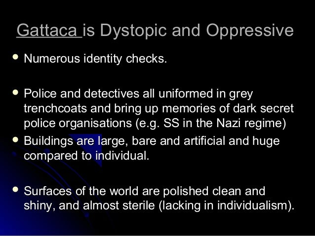 gattaca essay writing power point 8