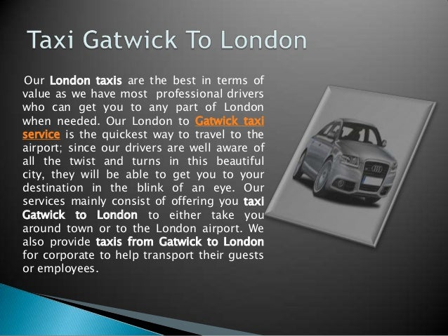 how to get from london city airport to gatwick