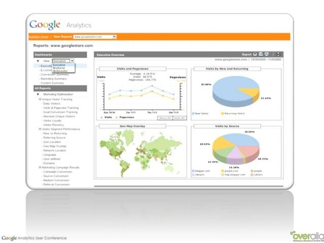 La oportunidad de cruzar datos e integrarlos en GA mediante laposibilidades de segmentación, los informes personalizado o ...