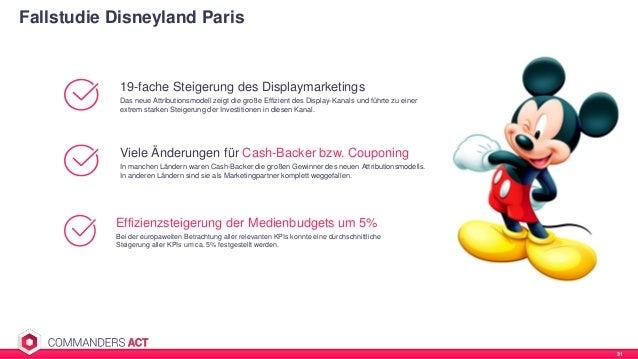 Fallstudie Disneyland Paris 31 Viele Änderungen für Cash-Backer bzw. Couponing In manchen Ländern waren Cash-Backer die gr...