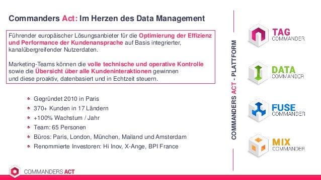 Commanders Act: Im Herzen des Data Management Führender europäischer Lösungsanbieter für die Optimierung der Effizienz und...