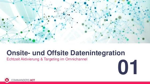 Onsite- und Offsite Datenintegration Echtzeit Aktivierung & Targeting im Omnichannel 01