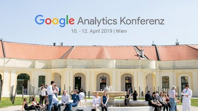 10. - 12. April 2019   Wien