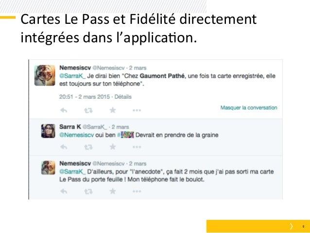 carte pass gaumont service client HUBDAY] Gaumont Pathé, Du m commerce au retail + mobile