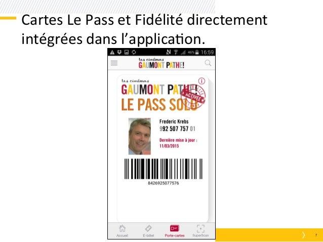 Hubday gaumont path du m commerce au retail mobile - Carte fidelite gaumont ...