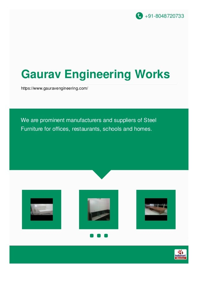 +91-8048720733 Gaurav Engineering Works https://www.gauravengineering.com/ We are prominent manufacturers and suppliers of...