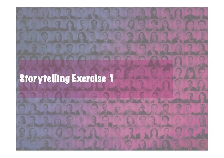 Storytelling Exercise 1
