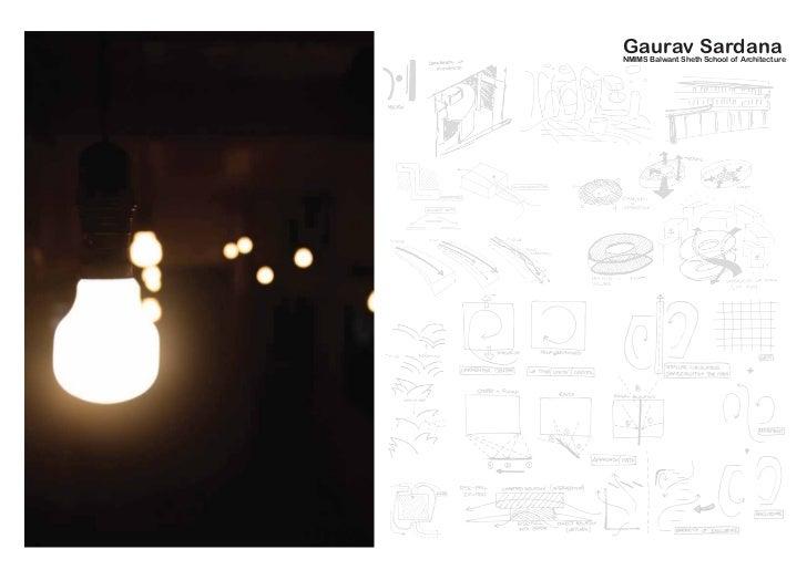 Gaurav SardanaNMIMS Balwant Sheth School of Architecture