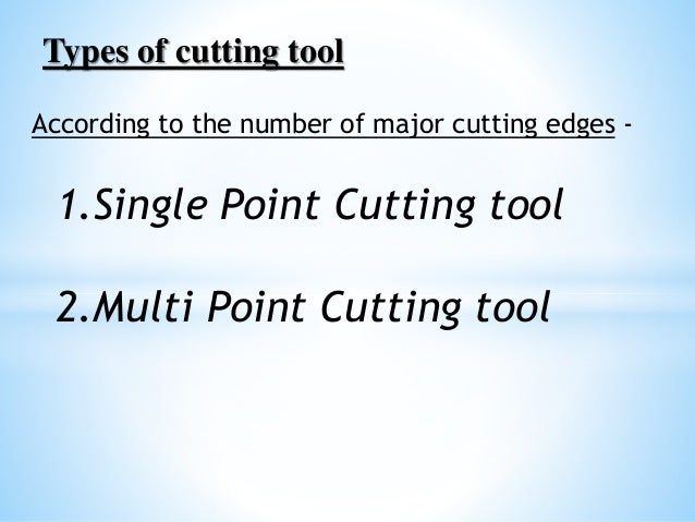 tool geometry by gaurav verma Slide 3