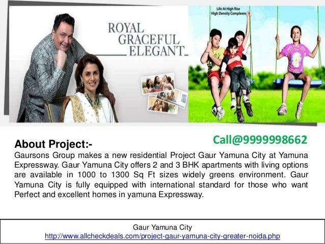 Gaur Yamuna City, Mega Residential Project in Yamuna Expressway Slide 2