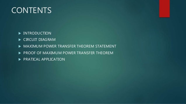 maximum power transformEquation R L Is A Variable Therefore The Condition For Maximum Power #13