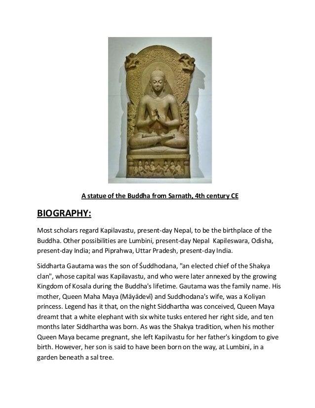 Gautam buddha Slide 2