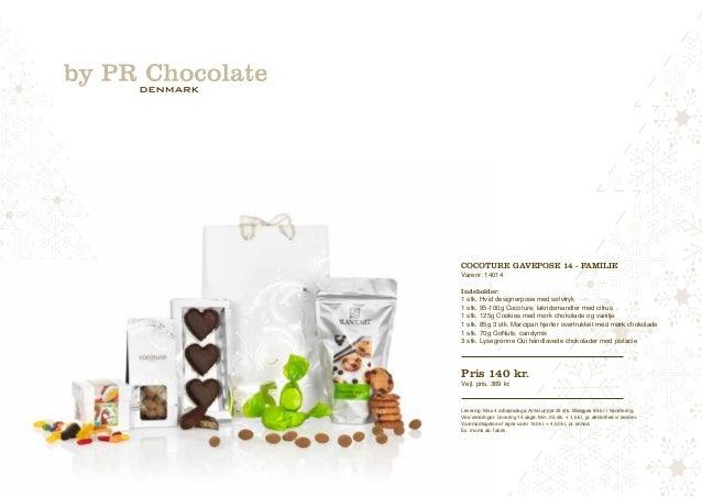 Cocoture Gavepose 14 - familie  Varenr. 14014  Indeholder:  1 stk. Hvid designerpose med sølvtryk  1 stk. 95-100g Cocoture...